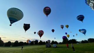 113789588 balloons2 - Bristol Balloon Fiesta flypast for socially-distant festival