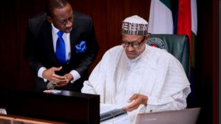 Aarẹ Buhari joko nibi ipade igbimọ isejọba apapọ