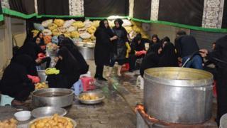 مراسم عاشورا در تهران