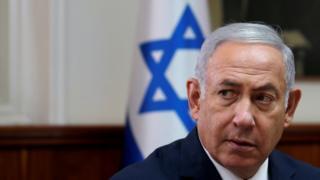 Primeiro-ministro israelense em Jerusalém, Setembro de 2018