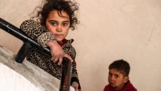 أطفال في الغوطة الشرقية