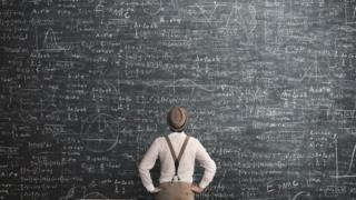 Pizarra matemáticas.