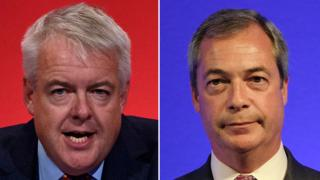 Carwyn Jones and Nigel Farage
