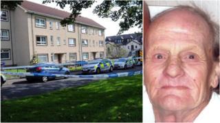 Police at the scene/Malcolm Ballantyne