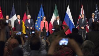 P5+1 ve İran Dışişleri Bakanları