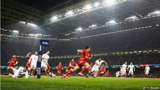 Six Nations Wales v England