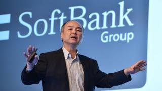 Softbank chief executive Masayoshi Son