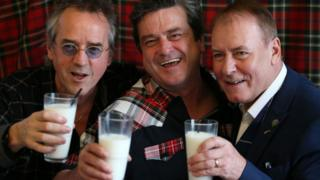 Stuart Wood, Les McKeown and Alan Longmuir