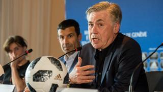 Carlo Ancelotti prendra les commandes de Naples.