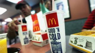 McDonald's soft drinks