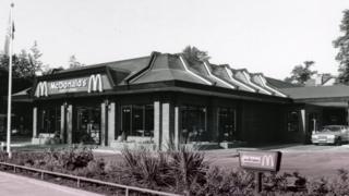 UK's first drive-thru McDonald's