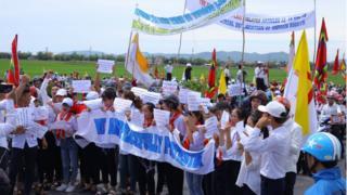 Việt Nam, giáo xứ, biểu tình, An ninh mạng