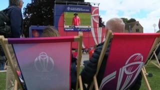 World Cup Cricket in Taunton
