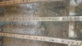Remains at St Gredifael's
