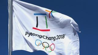 Flag nke PyeongChang 2018