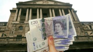 Фунты на фоне Банка Англии