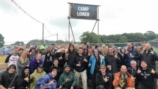'Camp Loner' at Download Festival 2018