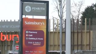Sainsbury's, New Square, Penrith
