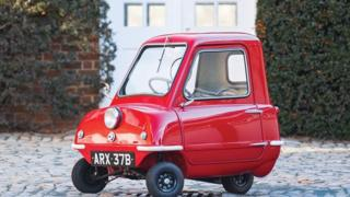 Peel P50 car courtesy of Sotheby's
