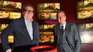 Colm Meaney and Timothy Spall