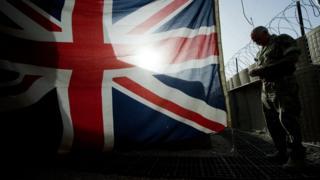 سرباز بریتانیایی در افغانستان