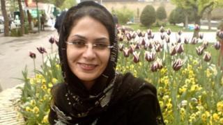 بهاره هدایت، فعال مدنی و دانشجوی دانشگاه تهران