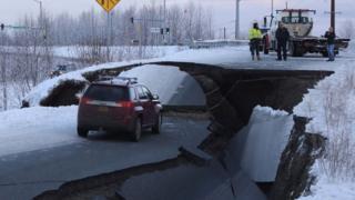 अलास्का में 7.0 तीव्रता का भूकंप