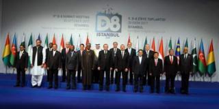 D-8 liderleri