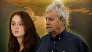 Caitlin Blackwood and Frazer Hines