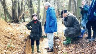 Giving advice to archaeologists in the early 1990s