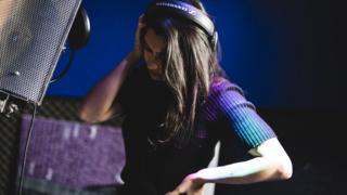 In the studio with Vanessa White