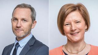 James Purnell and Helen Boaden