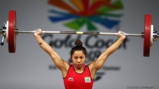 मीराबाई चानू, भारोत्तोलन, राष्ट्रमंडल खेल, ओलंपिक
