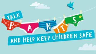 Talk pants NSPCC poster