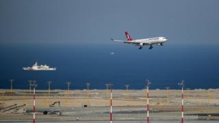 İstanbul Hava Limanı, Türkiyə, Yeni hava limanı, Azərbaycan
