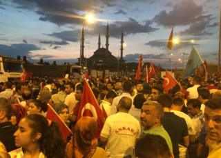массовая акция в Стамбуле
