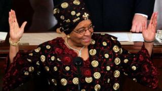 Shugabar kasar Liberia Ellen Johnson Sirleaf