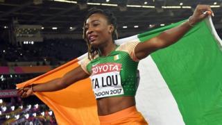 Côte d'Ivoire : Marie-Josée Ta Lou veut être la 1ère africaine championne du monde