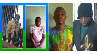 Two Offa robbery suspects wey Police arrest
