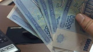 Oʻzbekistonda muomalaga chiqarilgan 10000 soʻmlik banknot