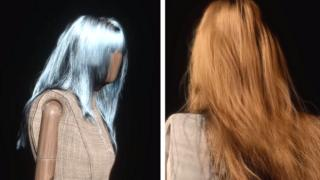 Hair rendered in the Frostbite engine