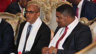 Madaxweyne Mustaf iyo madaxweynaha oromia