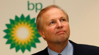 BP chief executive, Bob Dudley