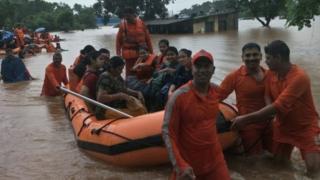 سیلاب انڈیا