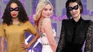 Jurnee Smollett-Bell, Margot Robbie and Mary Elizabeth Winstead