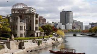 جانب من مدينة هيروشيما
