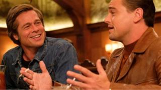 once upon a time in hollywood, quentin tarantino, brad pitt, leonardo dicaprio