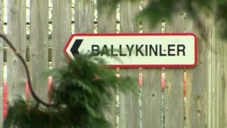 Ballykinler sign