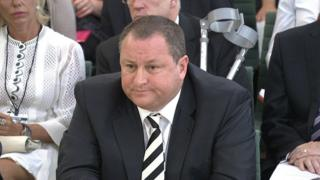 Mike Ashley at Parliamentary committee
