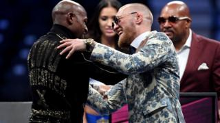 Floyd Mayweather ve Conor McGregor